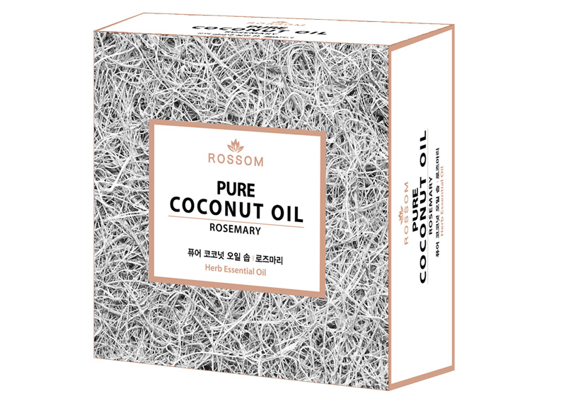 Coconut Oil Soap(Rosemary)