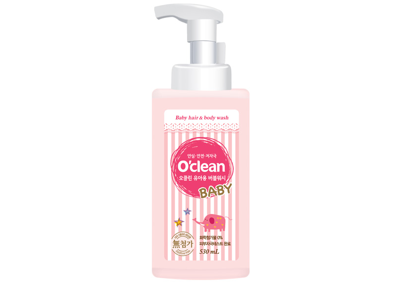 O'Clean Additive-free Baby Bubble Soap